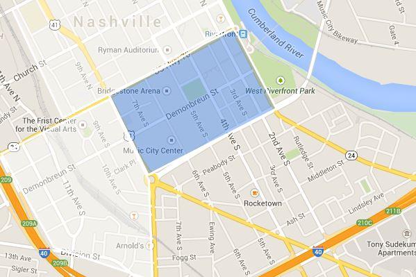 SoBro in Downtown Nashville